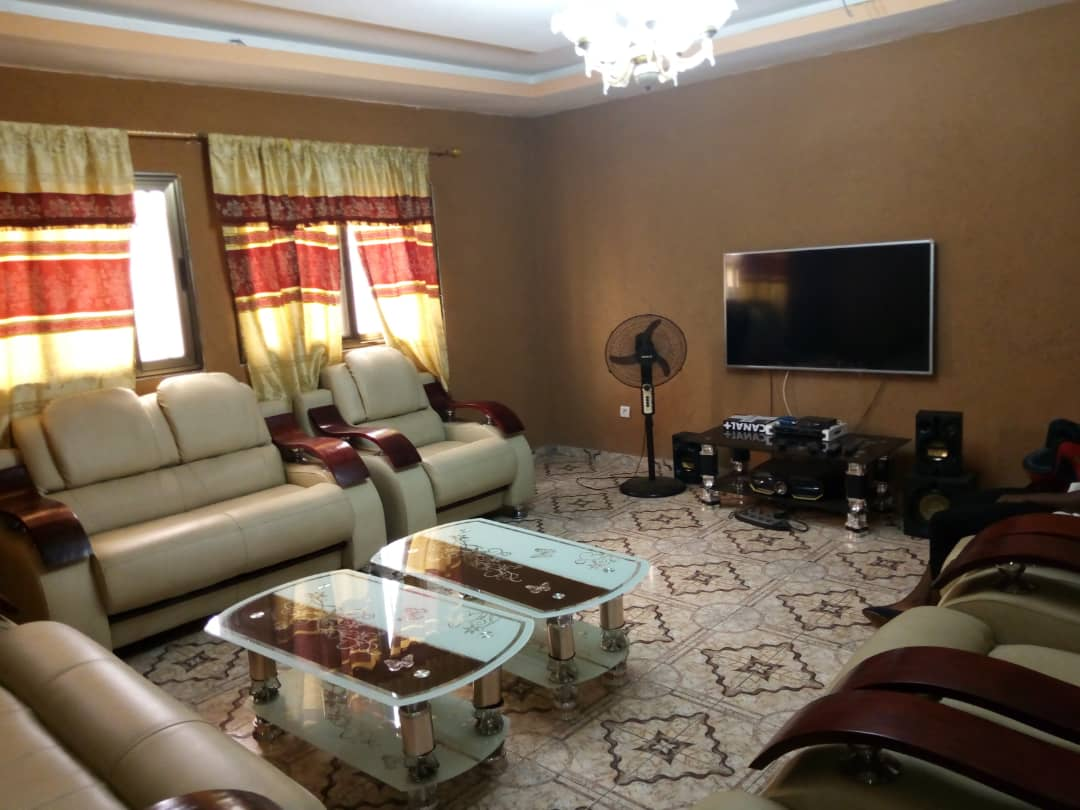 N° 4719 :                         Appartement meublé à louer ,  agbalepedo , Lome, Togo : 250 000 XOF/mois