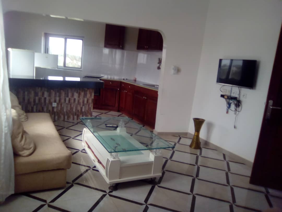 N° 4455 :                             Appartement meublé à louer , Adidogome wonyome, Lome, Togo : 200 000 XOF/mois
