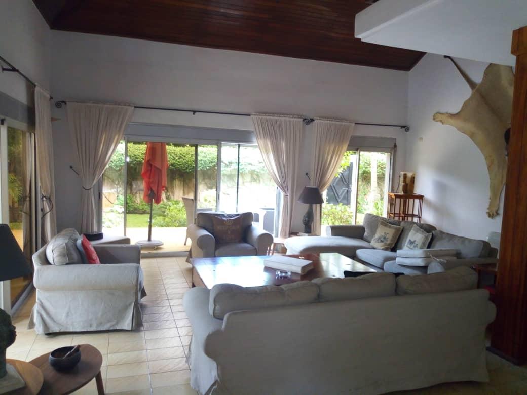 N° 4485 :                             Villa meublée à louer , Gblinkome, Lome, Togo : 1 500  000 XOF/mois