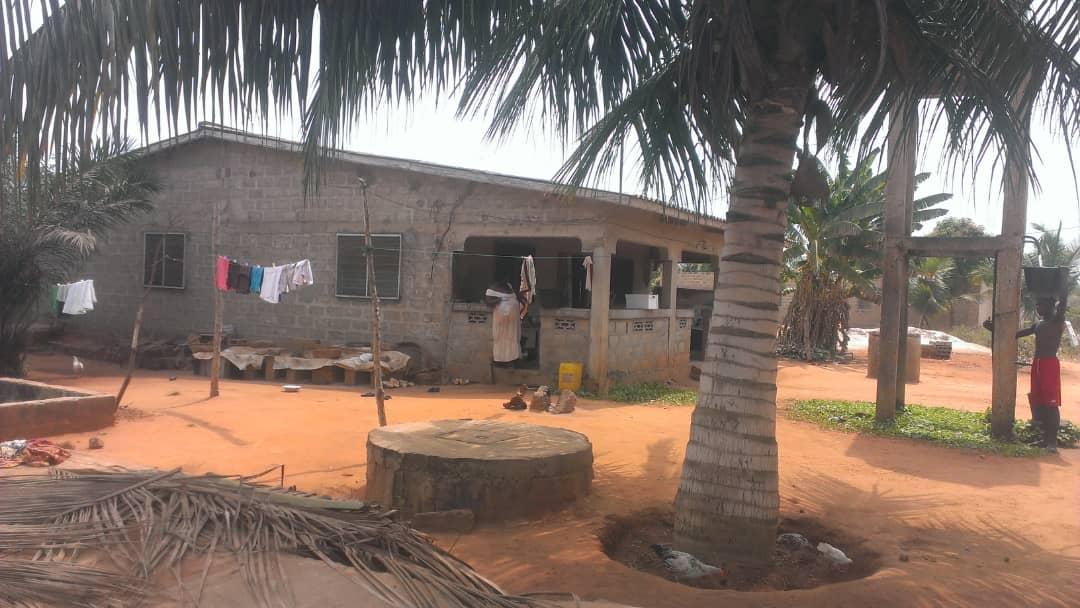 Terrain à vendre , zanguera                         (Klémé-Agokpanou non loin du primaire)                     , Lome : 20 000  000 FCFA