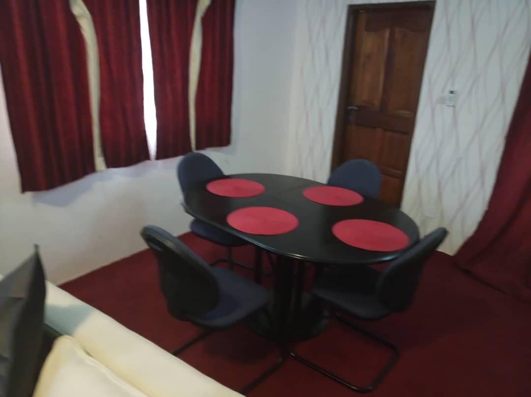 N° 4495 :                             Appartement meublé à louer , Wonyome, Lome, Togo : 350 000 XOF/mois