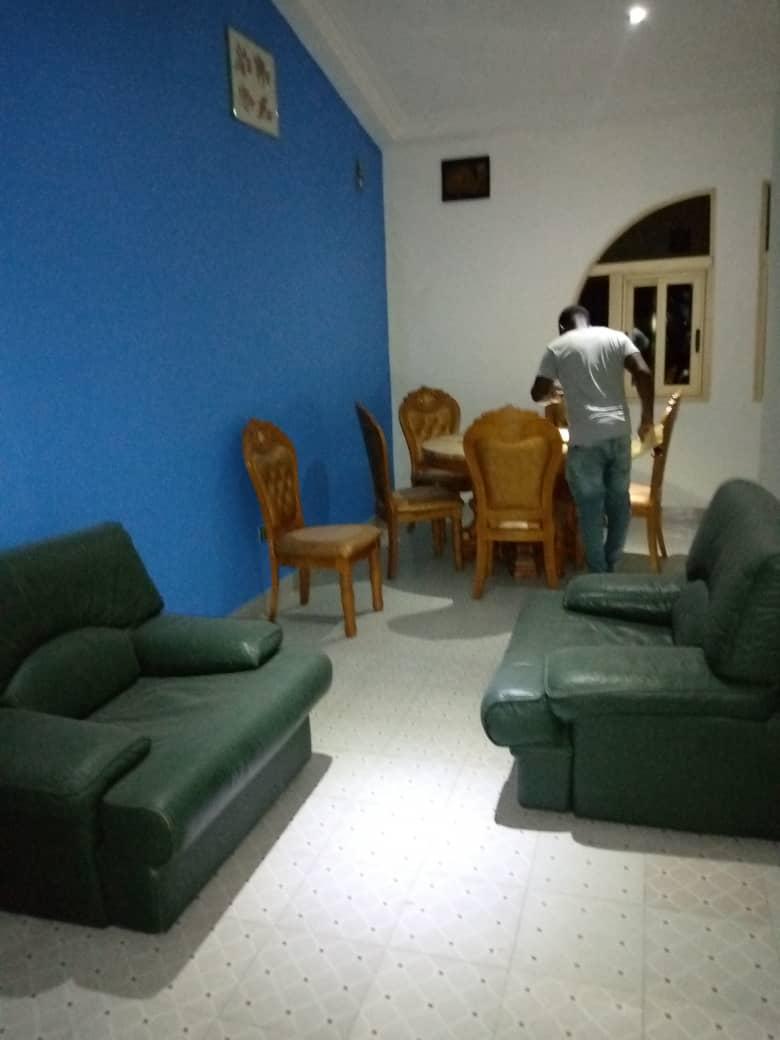 N° 4924 :                             Appartement meublé à louer , Avepozo, Lome, Togo : 600 000 XOF/mois