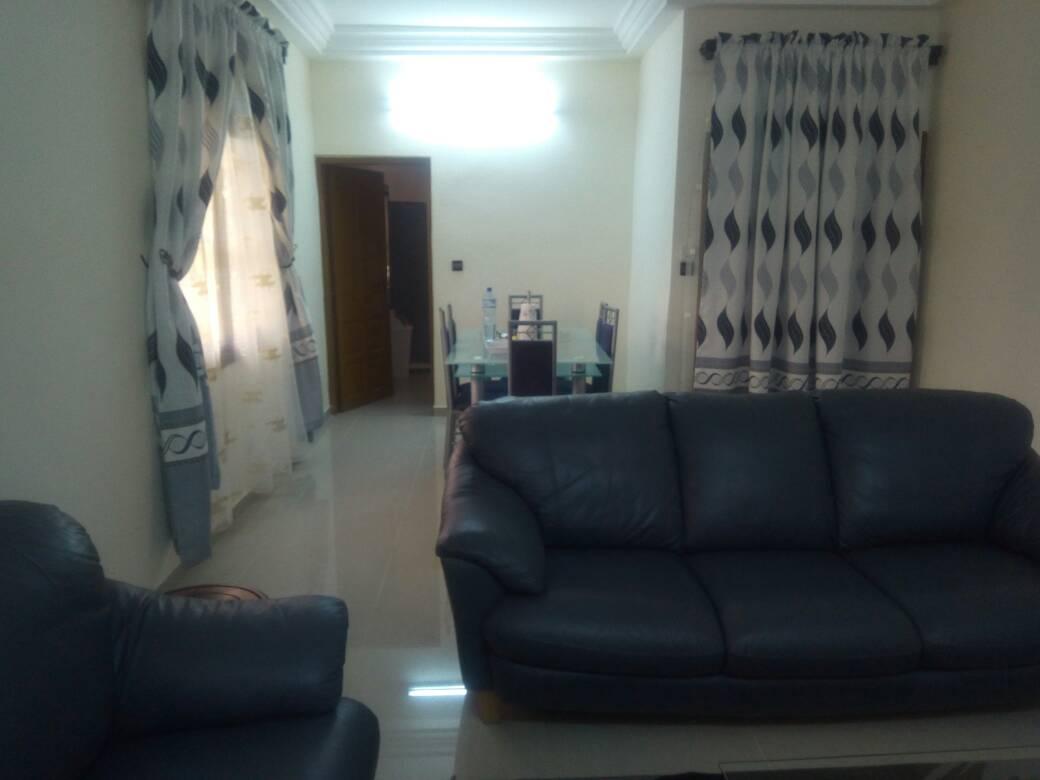 N° 4742 :                             Appartement meublé à louer , Cassablacca , Lome, Togo : 450 000 XOF/mois