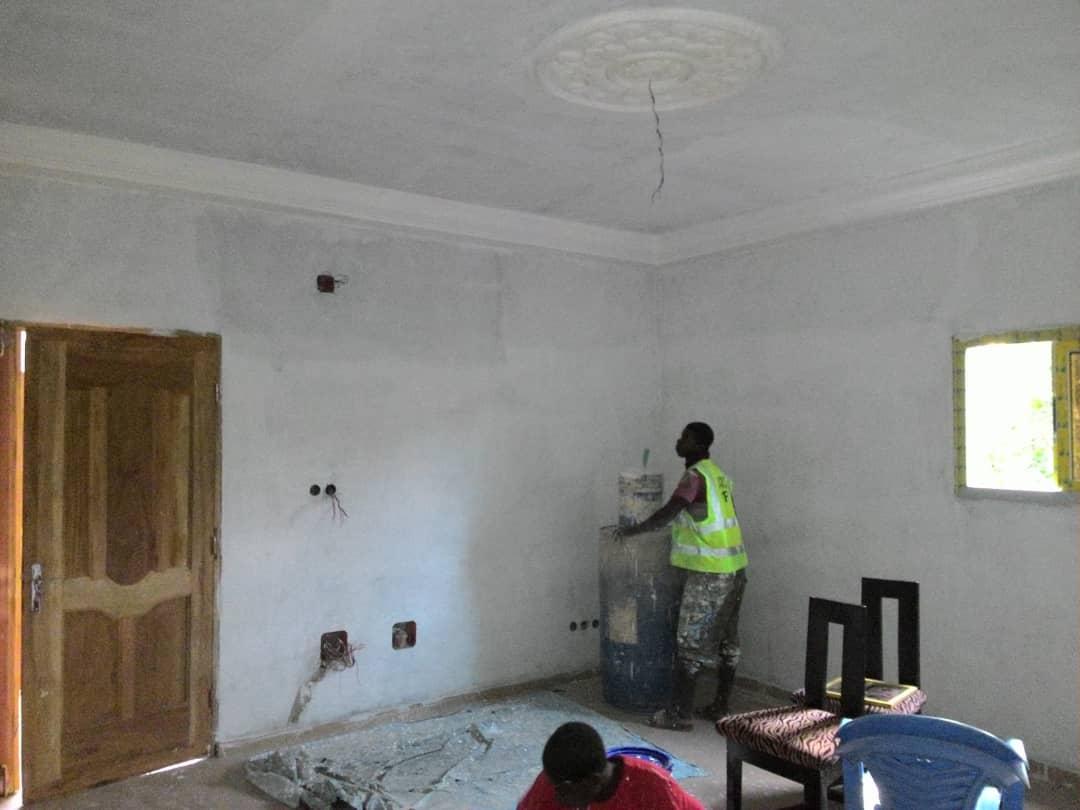 N° 4834 :                             Appartement à louer , Entreprise de l'union, Lome, Togo : 70 000 XOF/mois