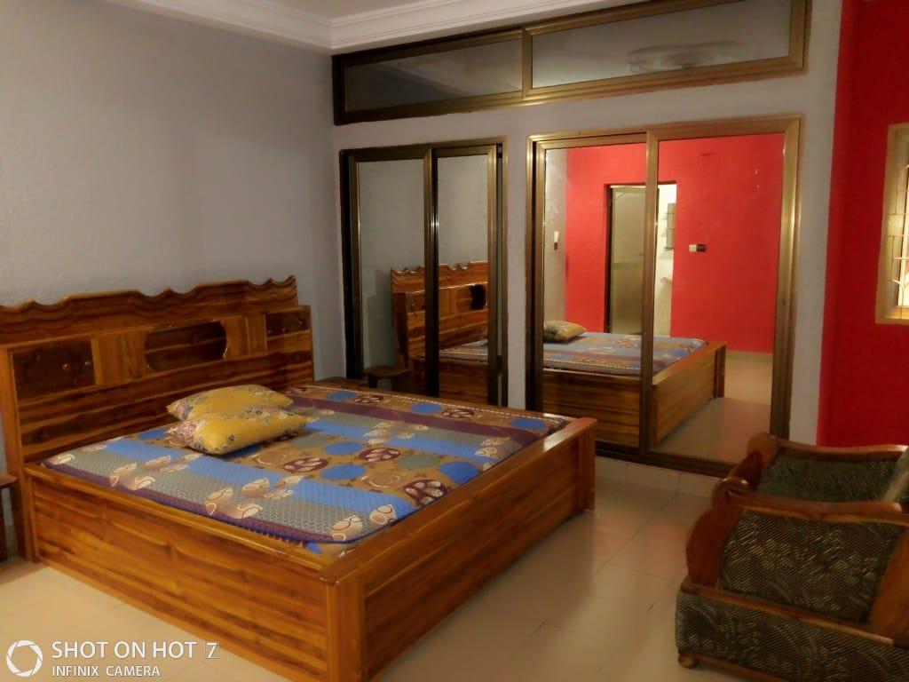 Appartement meublé à louer , kegue                         (NON LOIN DE LA STATION CAP)                     , Lome : 350 000 FCFA/mois