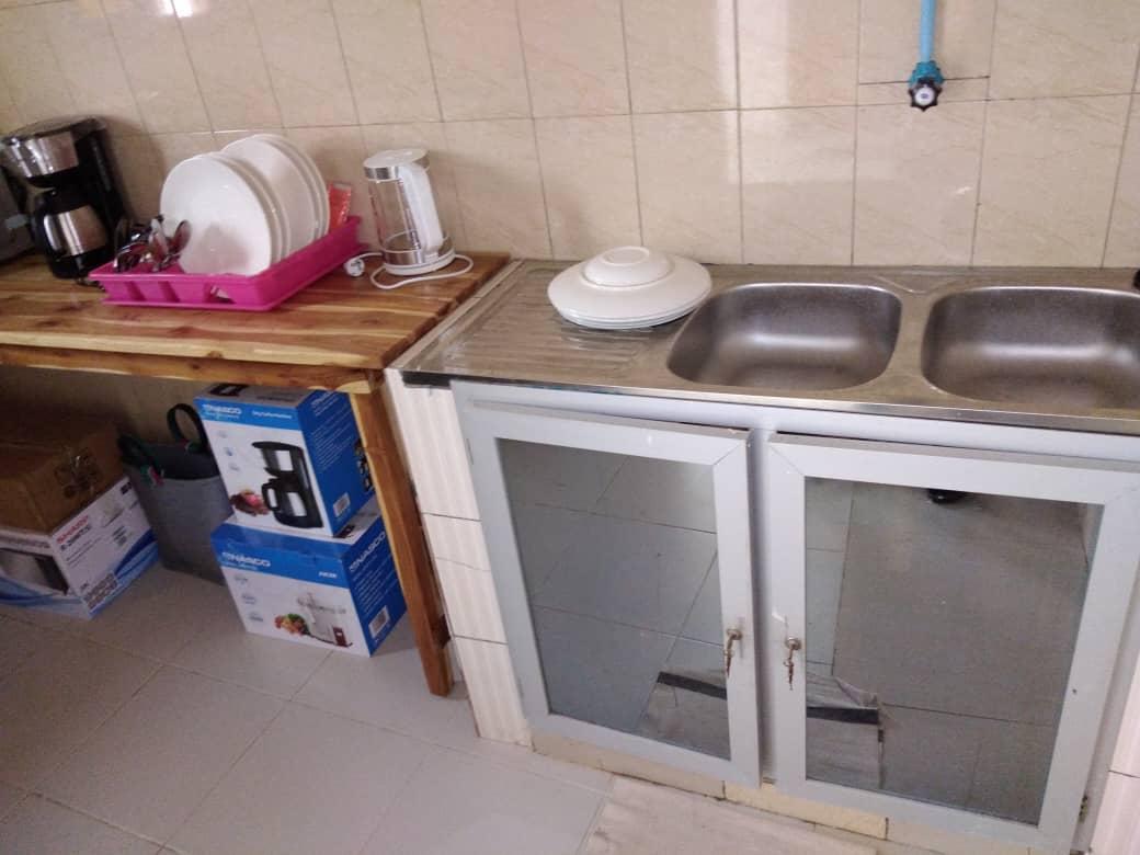 N° 4912 :                             Appartement meublé à louer , Cassablanca, Lome, Togo : 250 000 XOF/mois