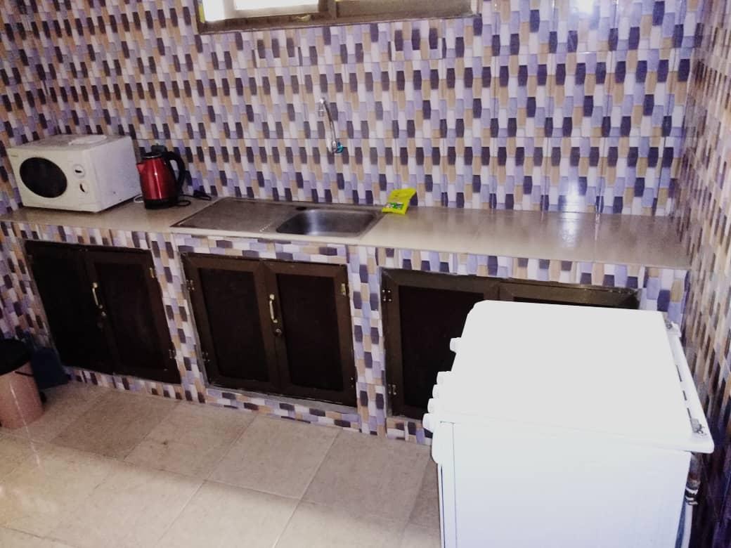 N° 4968 :                             Appartement meublé à louer , Tokoin, Lome, Togo : 350 000 XOF/mois