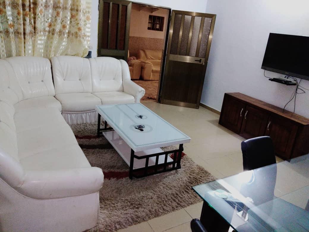 N° 5007 :                             Appartement meublé à louer , Tokoin, Lome, Togo : 350 000 XOF/mois