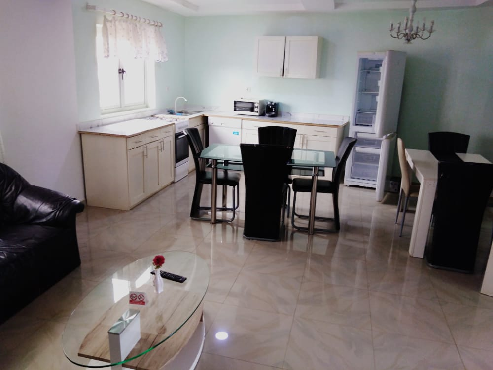 N° 5034 :                             Appartement meublé à louer , Adidogome, Lome, Togo : 250 000 XOF/mois