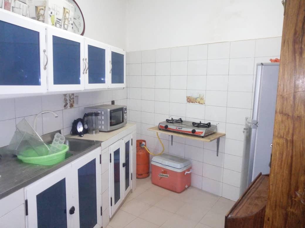 N° 5041 :                             Appartement meublé à louer , Amadahome, Lome, Togo : 200 000 XOF/mois