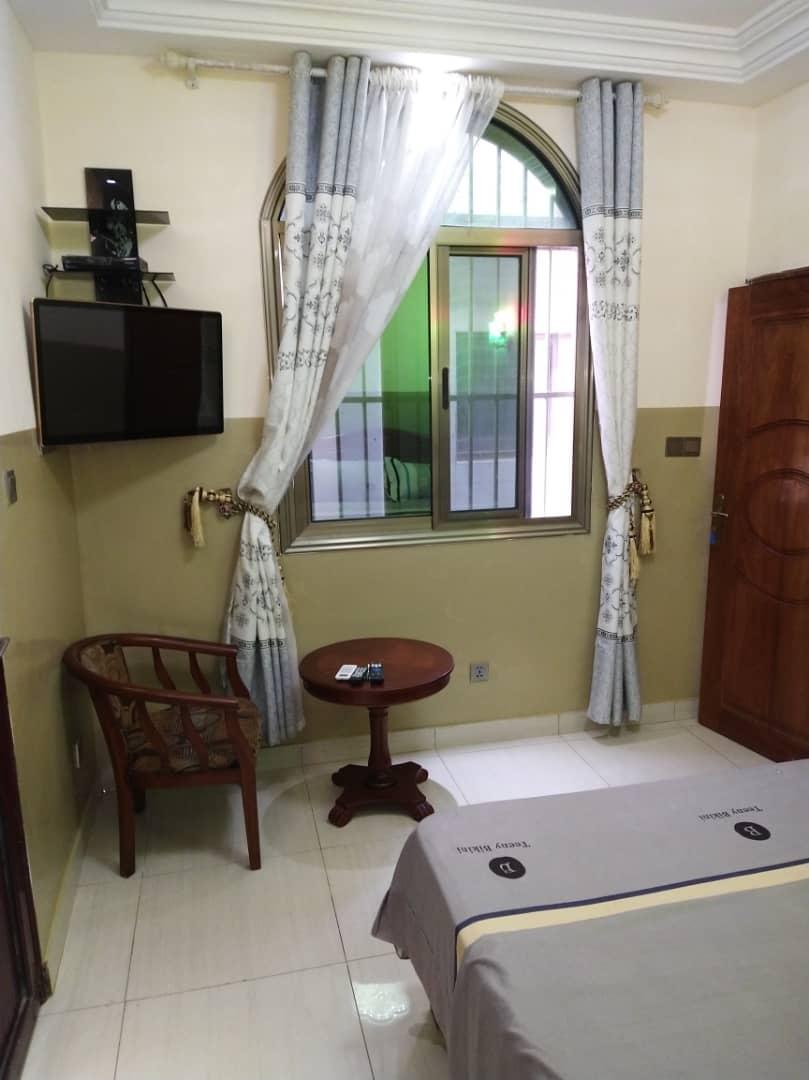 N° 5079 :                             Appartement meublé à louer ,  cacaveli , Lome, Togo : 300 000 XOF/mois