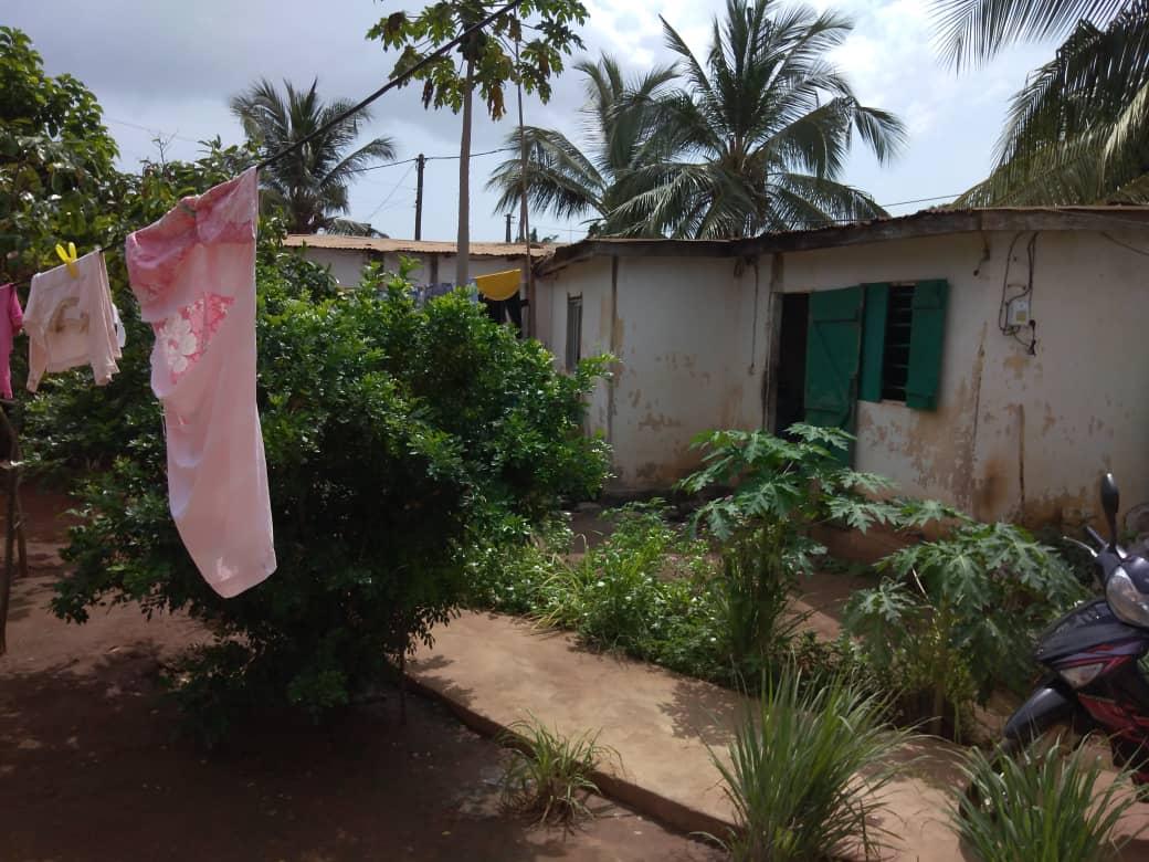 N° 5085 :                             Terrain à vendre , Djidjole , Lome, Togo : 40 000  000 XOF/vie