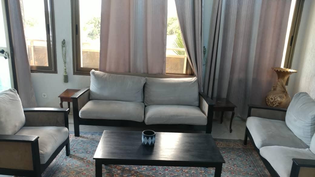 N° 5099 :                             Appartement meublé à louer ,  tokoin, Lome, Togo : 450 000 XOF/mois