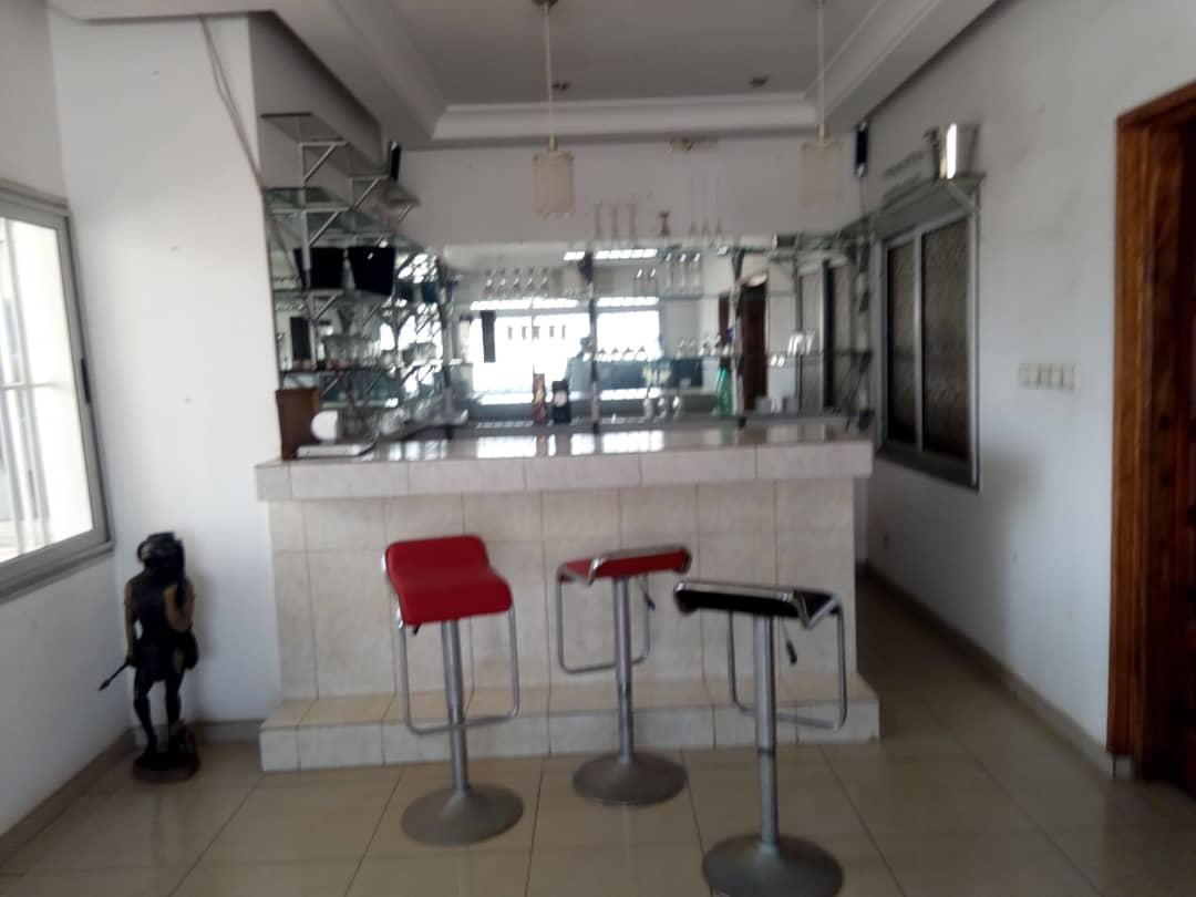 N° 5147 :                             Appartement meublé à louer , Djidjole , Lome, Togo : 350 000 XOF/mois