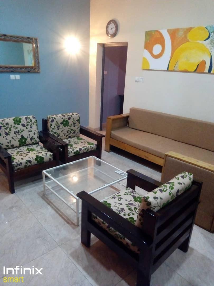 N° 5148 :                             Appartement meublé à louer , Hedranawoe , Lome, Togo : 250 000 XOF/mois