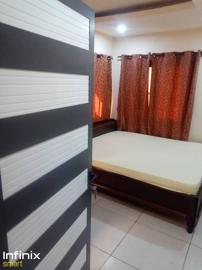 N° 5151 :                             Appartement meublé à louer , Hedzranawoe, Lome, Togo : 350 000 XOF/mois