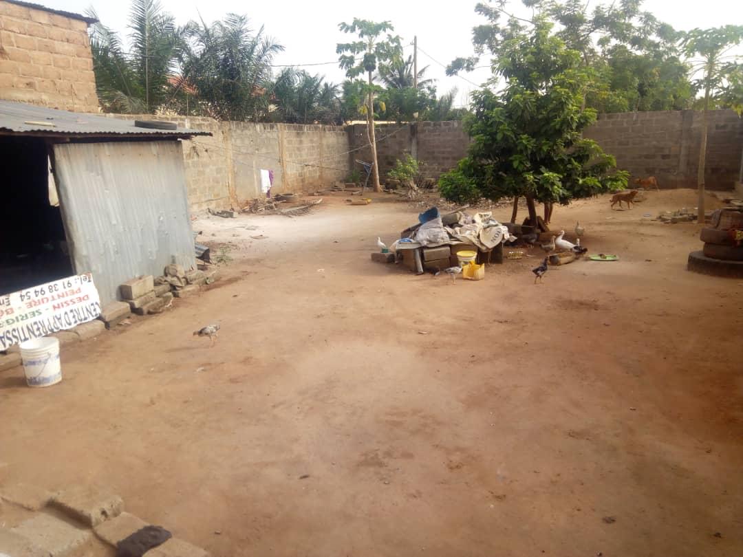 Maison à vendre , amadahome                         (Face au complexe scolaire Mathias Amedome)                     , Lome : 32 000  000 FCFA