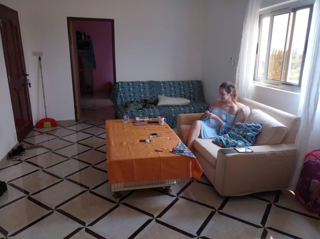 N° 4389 :                             Appartement meublé à louer , Adidogome, Lome, Togo : 200 000 XOF/mois